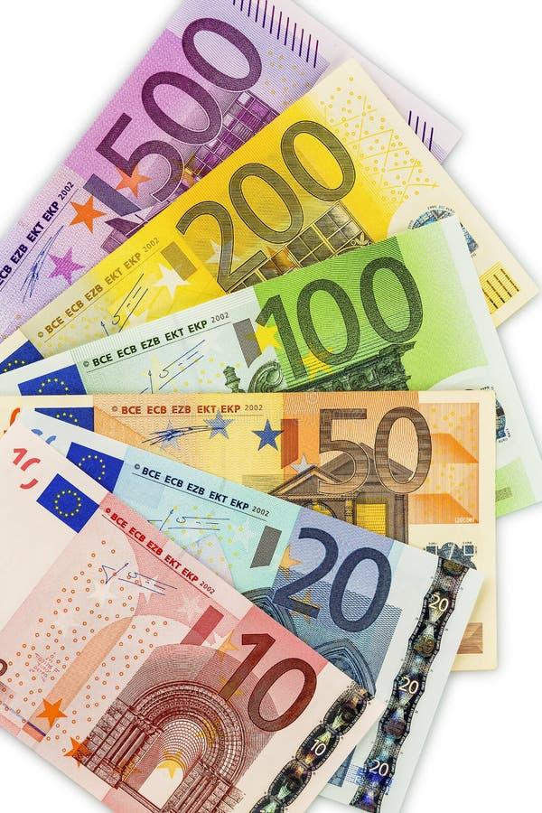 Много кредиток евро стоковые фото