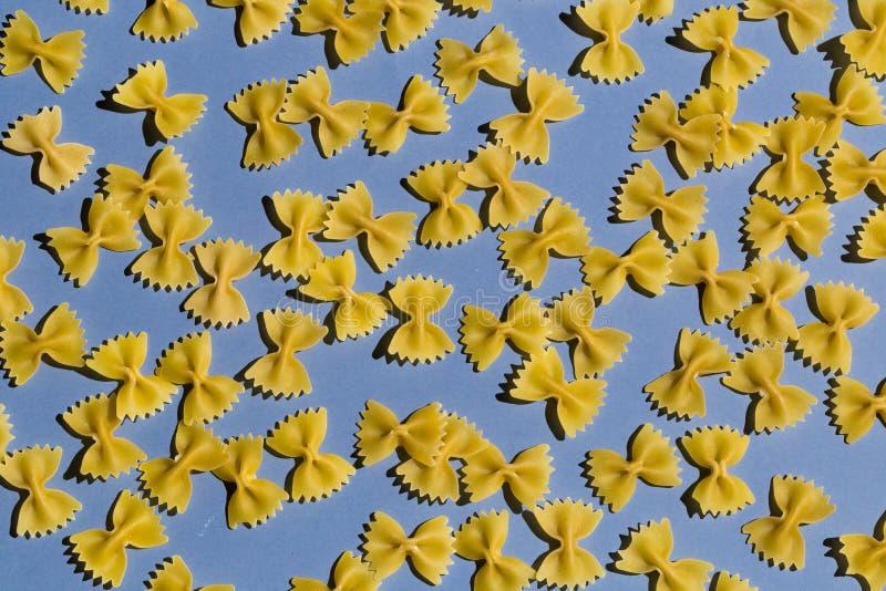Много макаронные изделия от экстра, мука класса кулака стоковое фото rf