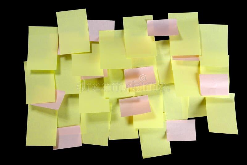 Download много примечаний слишком стоковое фото. изображение насчитывающей paperwork - 6851192