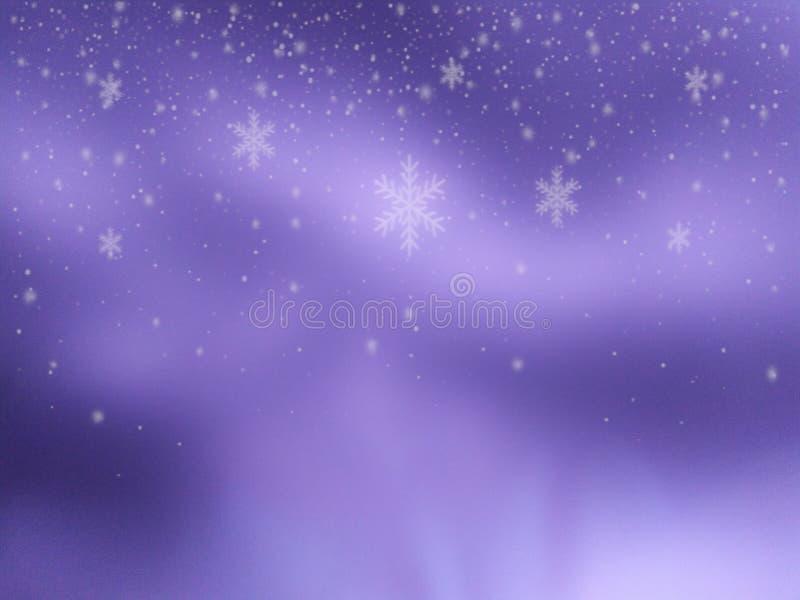Много цветок белый на светлом - пурпурная и темная пурпурная предпосылка иллюстрация штока