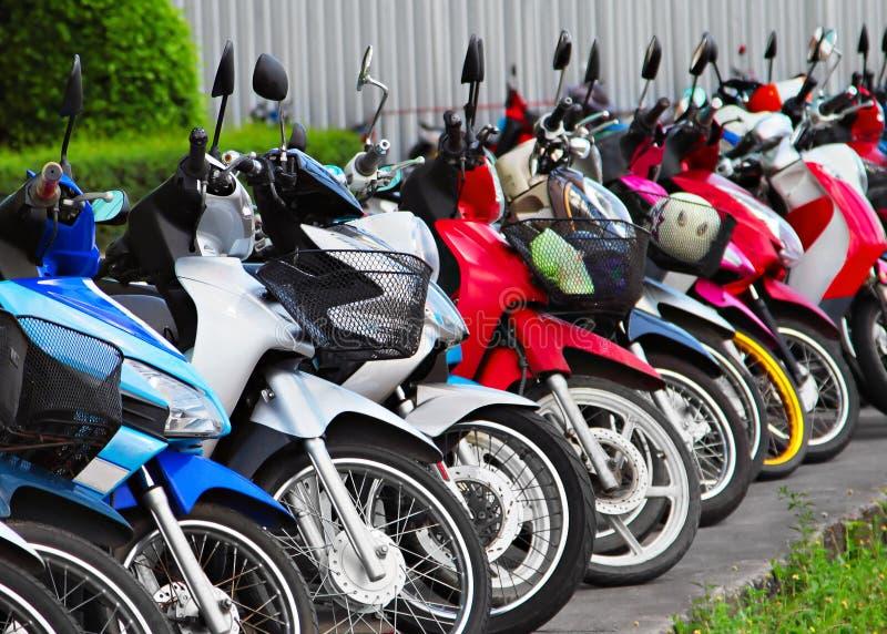 много motobikes стоковое фото rf