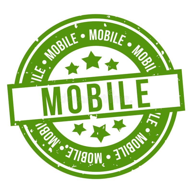 Мобильная печать Зеленый значок r бесплатная иллюстрация