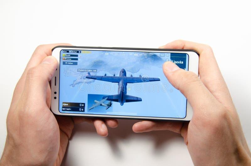 Мобильные применение и игры стоковое изображение