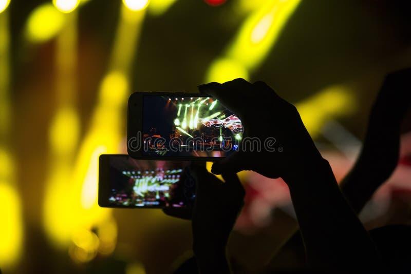 Мобильные телефоны стоковое изображение rf
