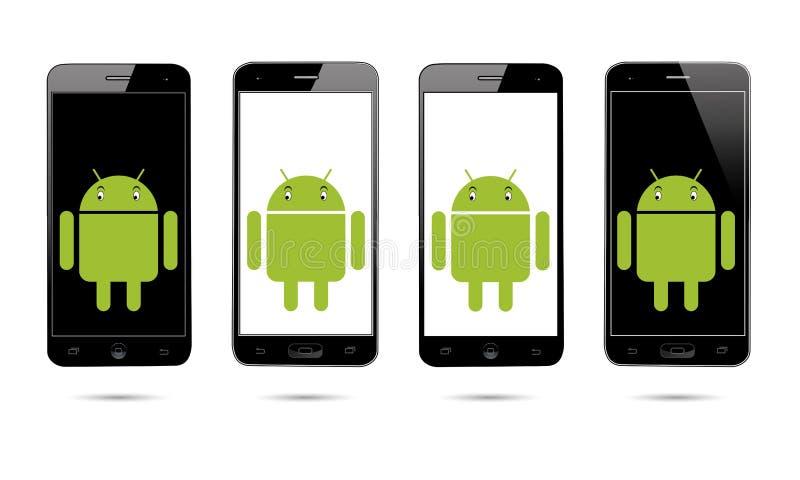 Мобильный телефон андроида бесплатная иллюстрация
