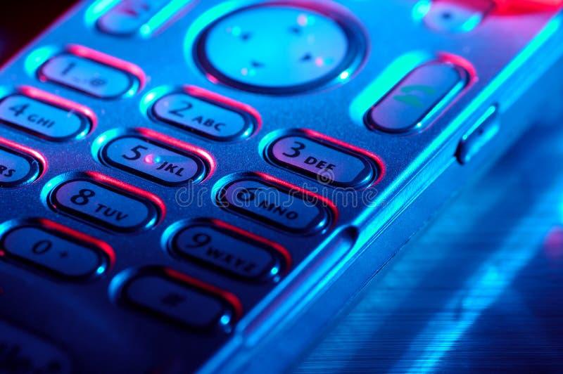 мобильный телефон стилизованный стоковые изображения rf