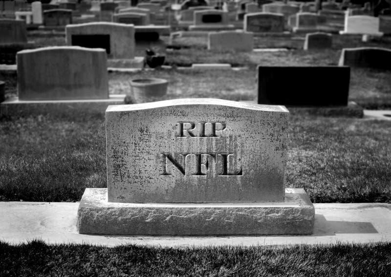 могила nfl кладбища стоковые фотографии rf