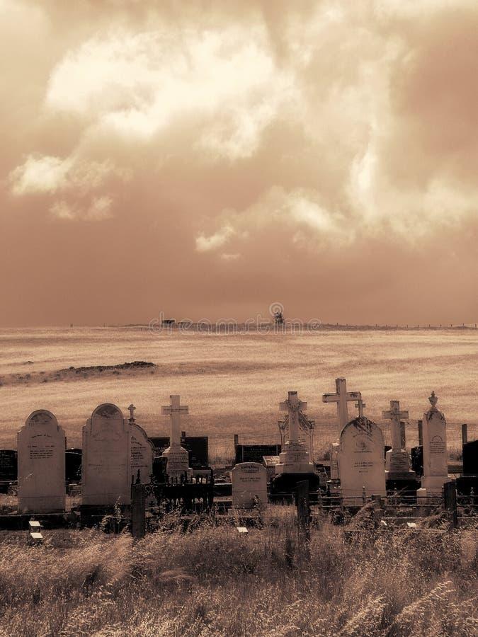 могилы бурные стоковые изображения rf