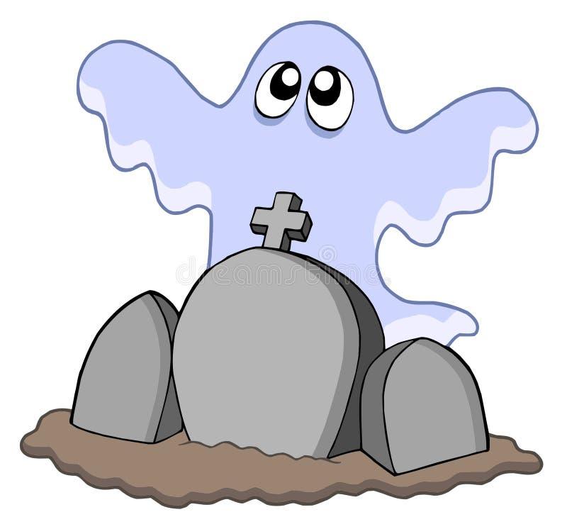 могилы привидения иллюстрация штока