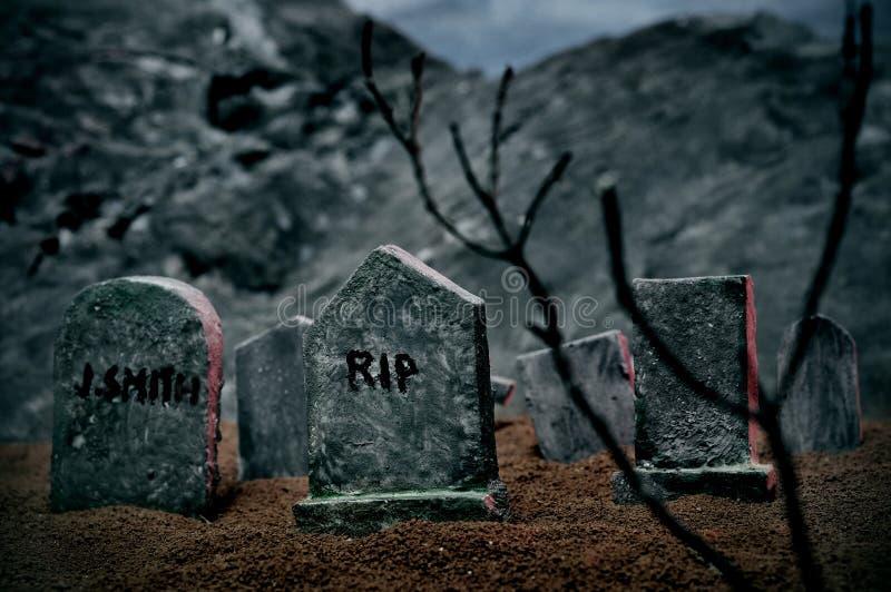 могилы halloween стоковые фото