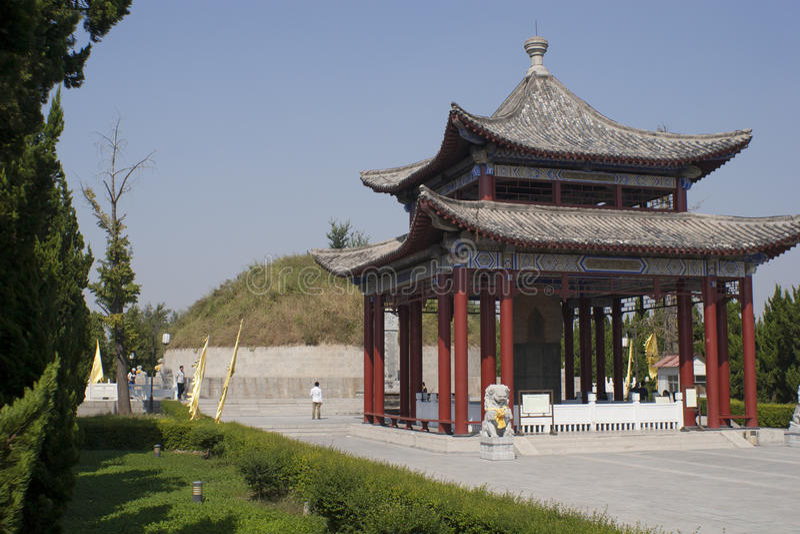 Могила матери ` s lao-tzu стоковое изображение rf