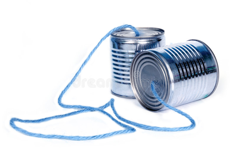 могут телефоны стоковое фото