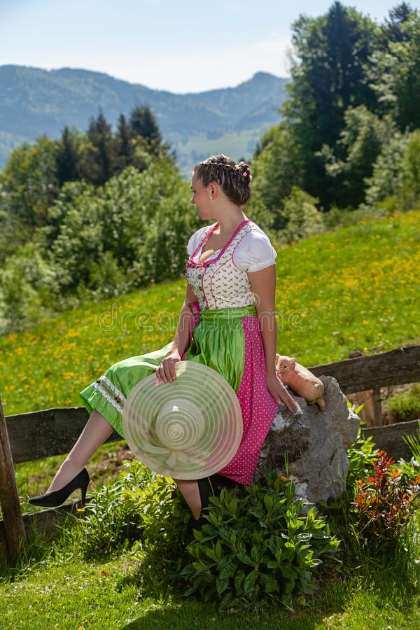 Мода на баварце стоковые фотографии rf