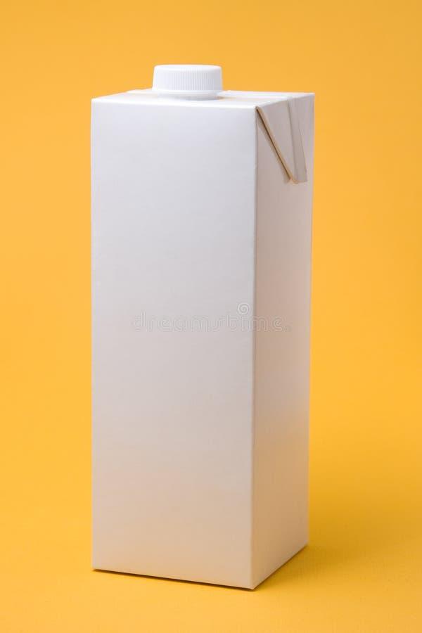 модельная белизна пакета стоковая фотография rf