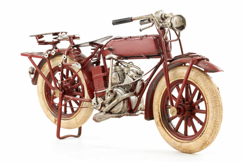 модельное олово мотоцикла стоковая фотография
