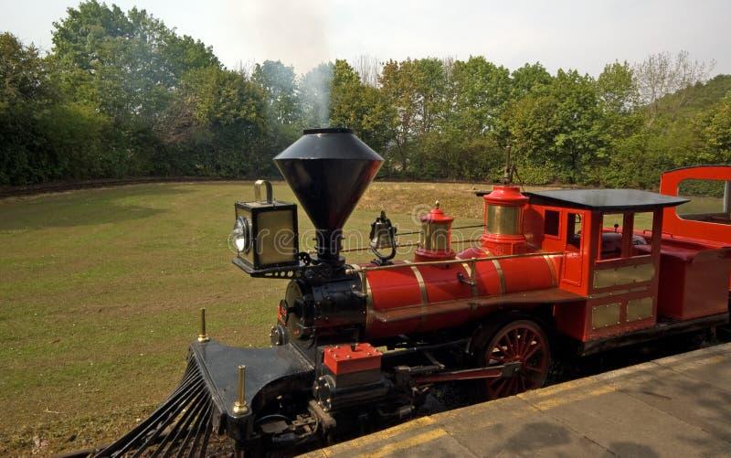 модельный поезд пара стоковое фото