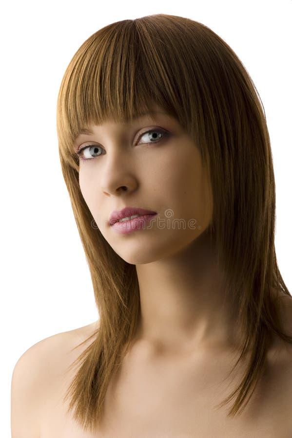 модельный портрет стоковое изображение