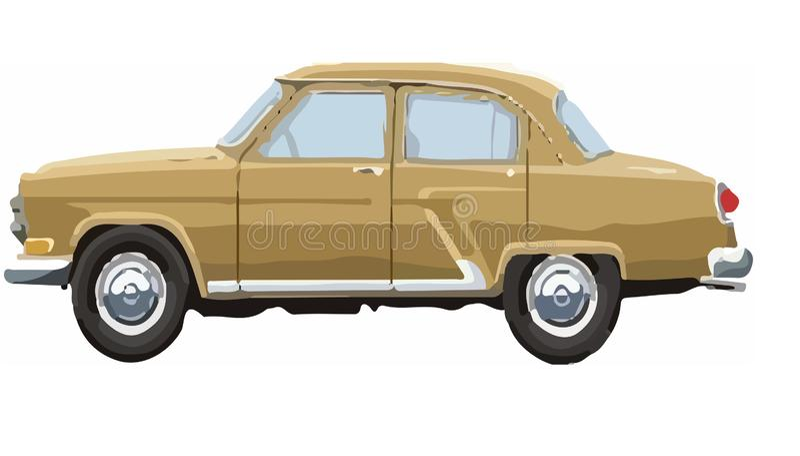 Модель автомобиля иллюстрация вектора