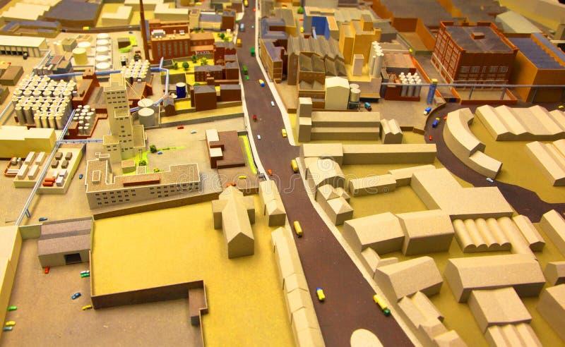 модель архитектурноакустического заречья промышленная стоковая фотография