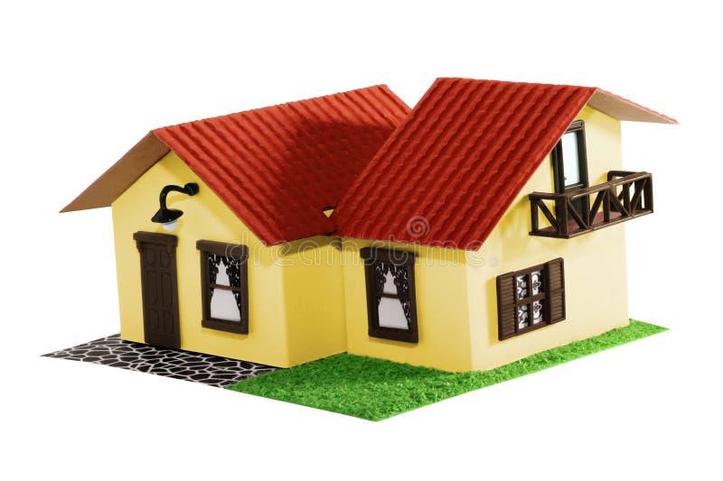 модель дома стоковая фотография