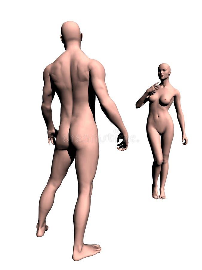 модель манекена Стоковые Изображения RF
