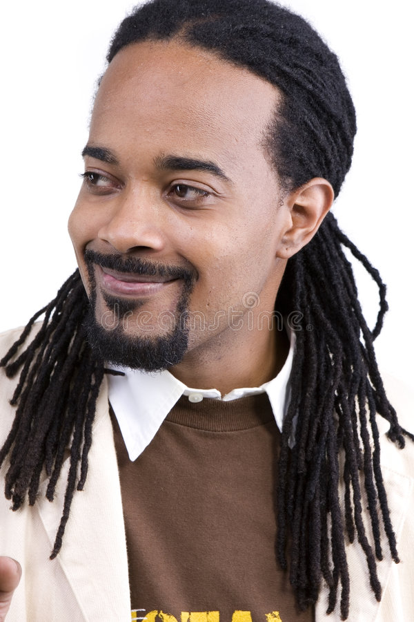 модель мужчины афроамериканца стоковые изображения