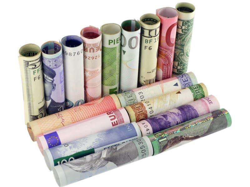 Модель софы от денег стоковое фото