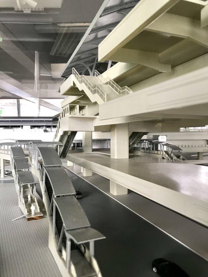 Модель станции BTS стоковое фото rf