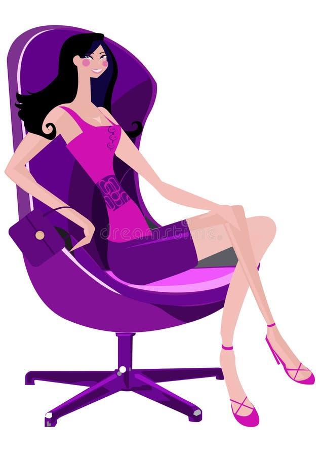 модная женщина стоковые изображения