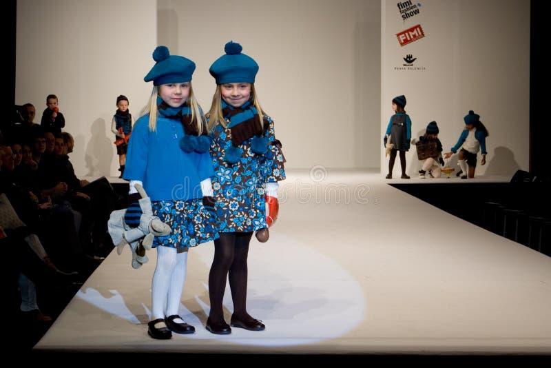 модный парад стоковое изображение rf