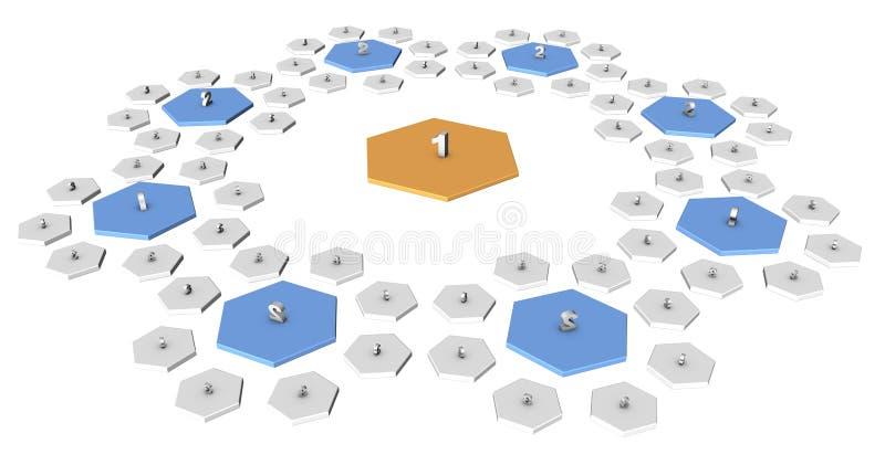 модули иллюстрация штока