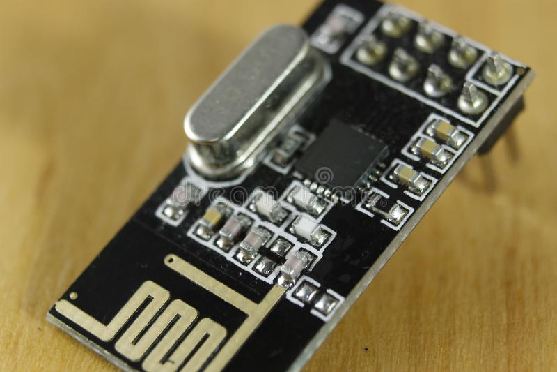 Модуль радио, электронные блоки стоковые изображения rf
