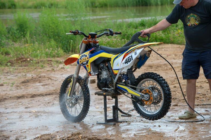 Моет пакостное мотоцилк стоковое изображение rf