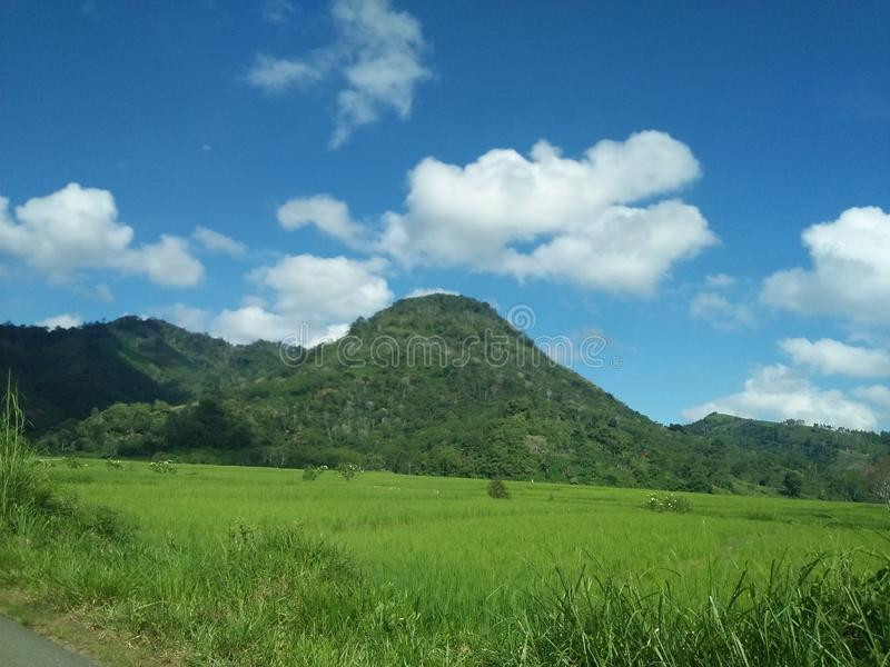Мое село стоковое изображение rf