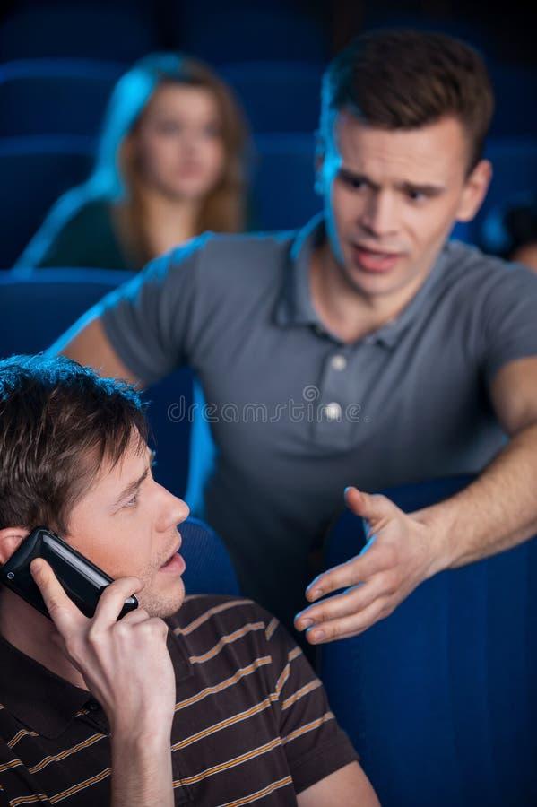 Можете вы остановить поговорить? стоковые изображения rf