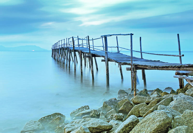 Может мост Gio старый стоковое фото
