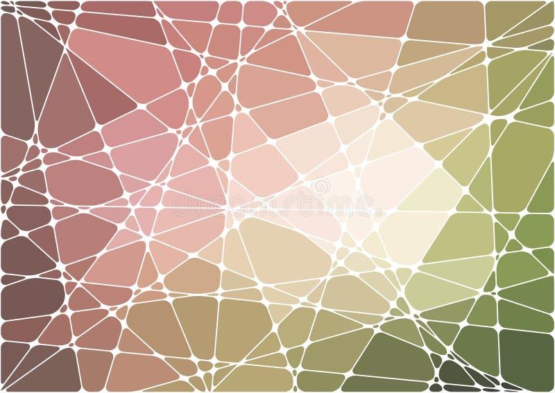 мозаика абстрактной предпосылки геометрическая бесплатная иллюстрация