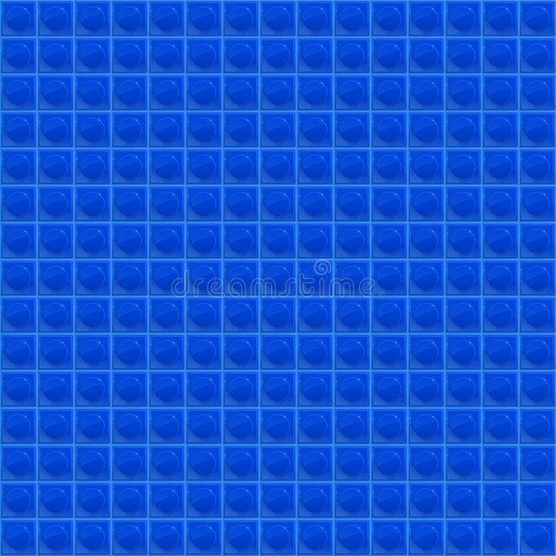 Мозаика голубой картины тетраэдрическая иллюстрация вектора
