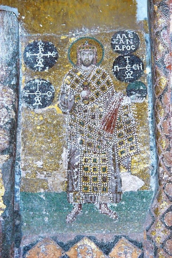 мозаика императора Александра стоковые изображения rf