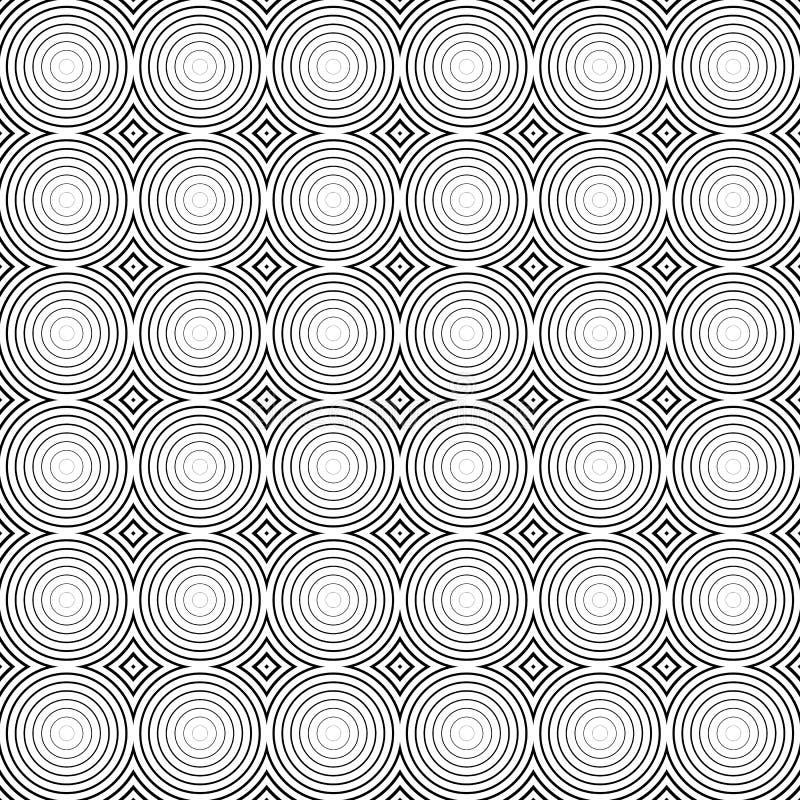 Download Мозаика картины кругов Repeatable - безшовной предпосылки Иллюстрация вектора - иллюстрации насчитывающей мозаика, график: 81812464