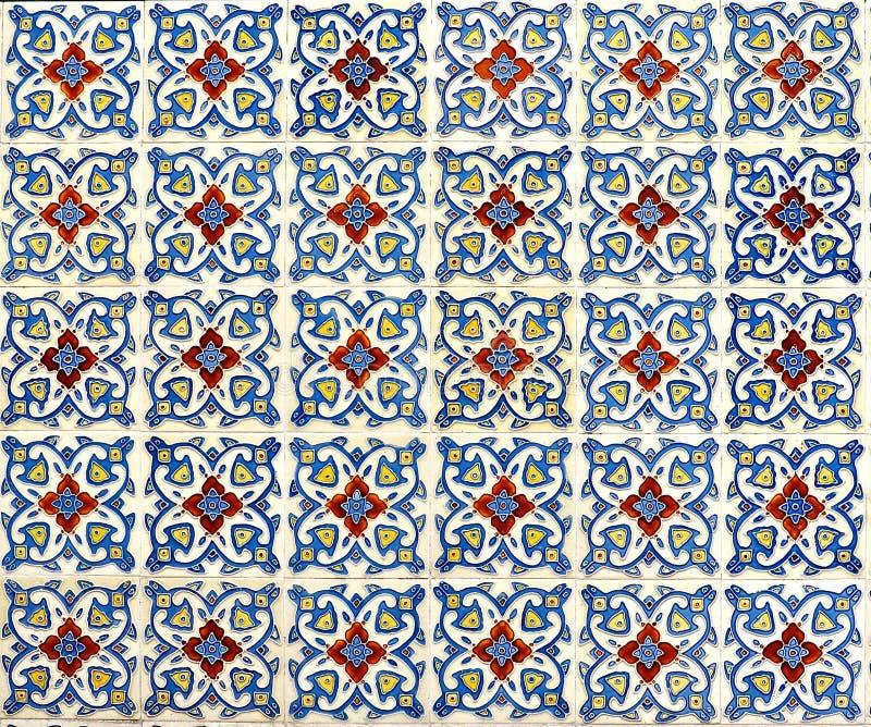 Мозаика плитки Peranakan стоковые фотографии rf