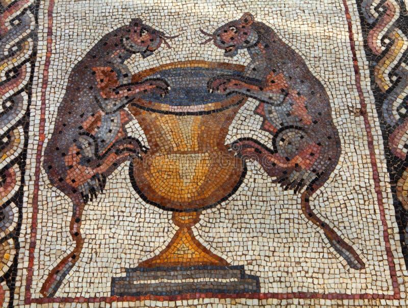 мозаика римская стоковое фото rf
