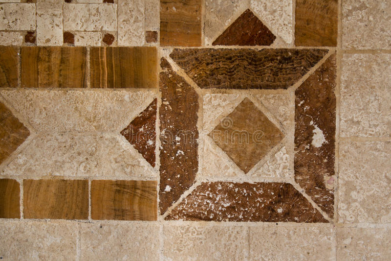 Мозаика угла стоковое фото rf