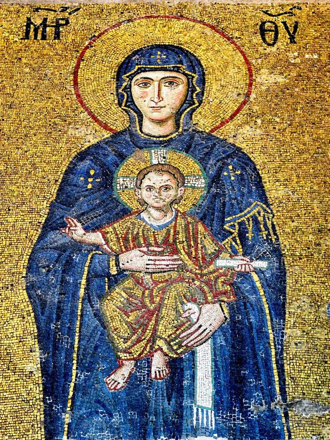 мозаика byzantine искусства стоковые изображения rf