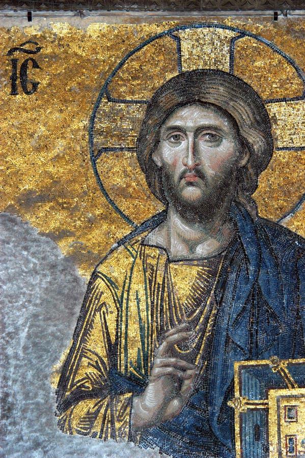 мозаика christ jesus стоковая фотография rf