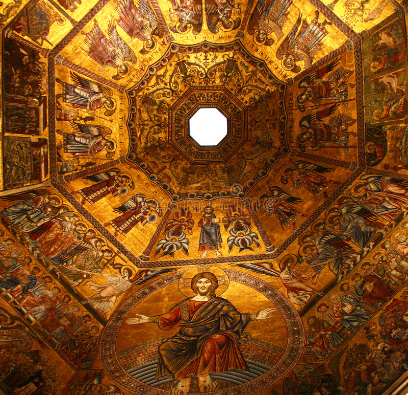 мозаика florence Италии стоковые изображения rf
