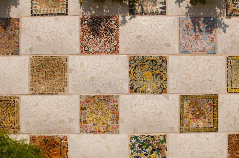 Мозаика Gaudi стоковое фото