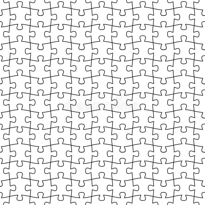 Мозаика r пустой шаблон простая черно-белая повторяющийся предпосылка образец ткани o иллюстрация вектора