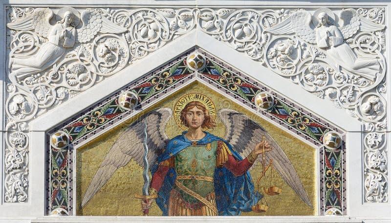 Мозаика St Michael стоковые изображения rf