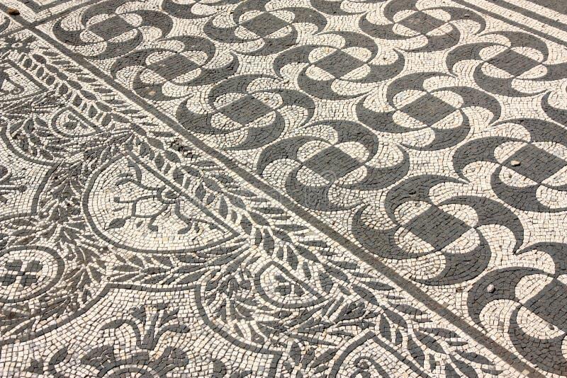 мозаики Италии римские стоковое изображение rf